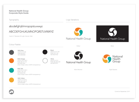 Page Corporate Style Guide